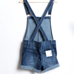 Kancan Lightly Distressed Overalls