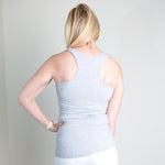 Ice Blue Racerback Tank Top