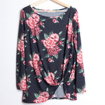Floral Long Sleeve with Knot
