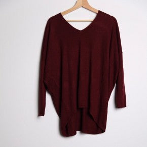 Hi-Lo Sweater, Dolman sleeves