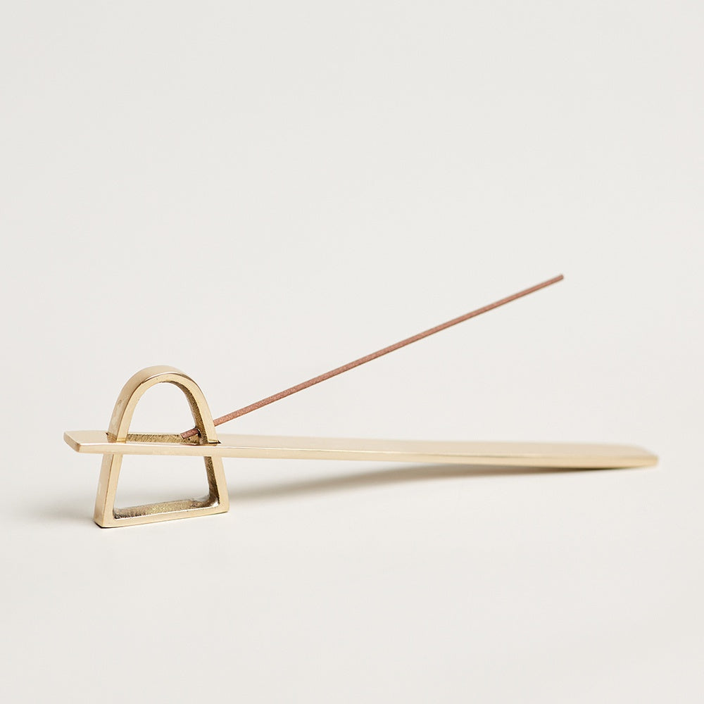Arch Incense Holder | Brass