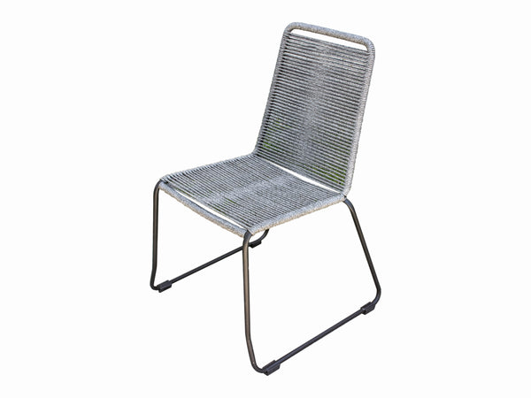 Marine Rope Dining Chair (Shades of Grey)