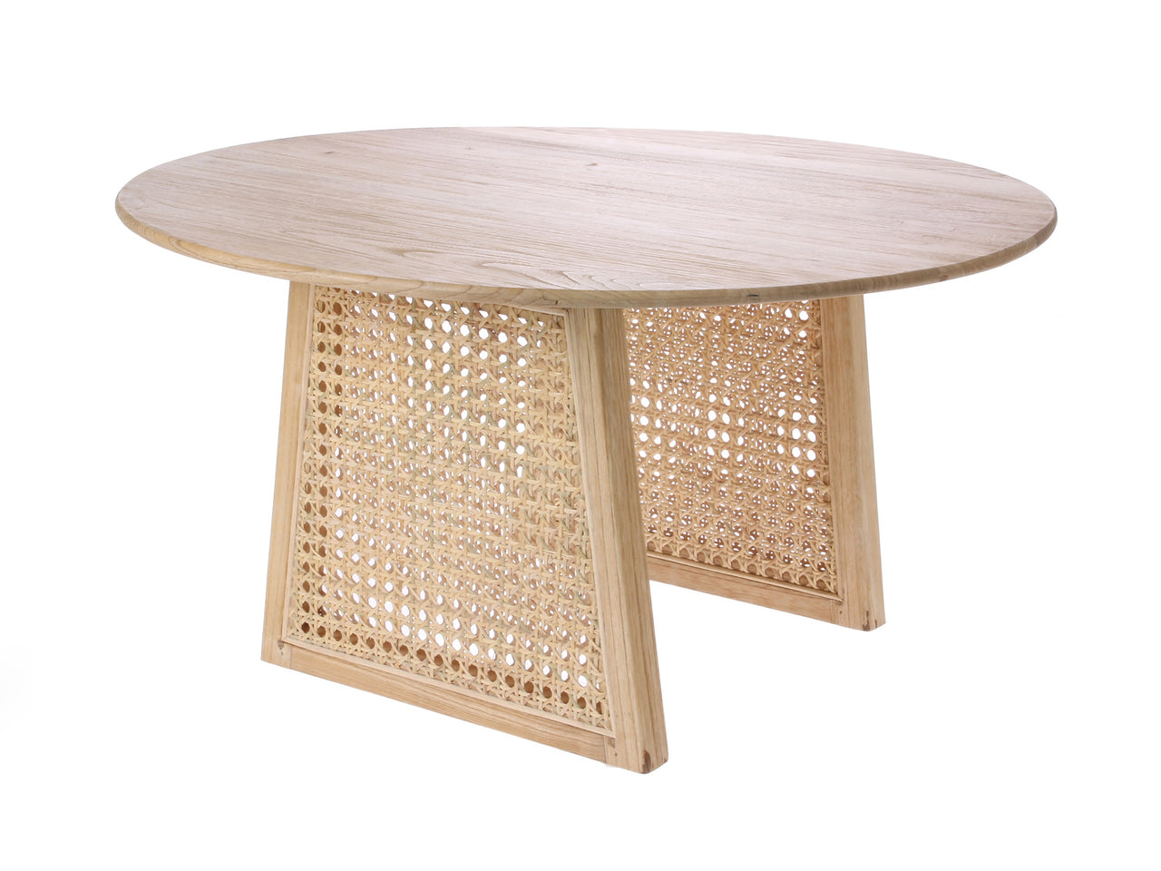 Rattan Coffee Table - Medium