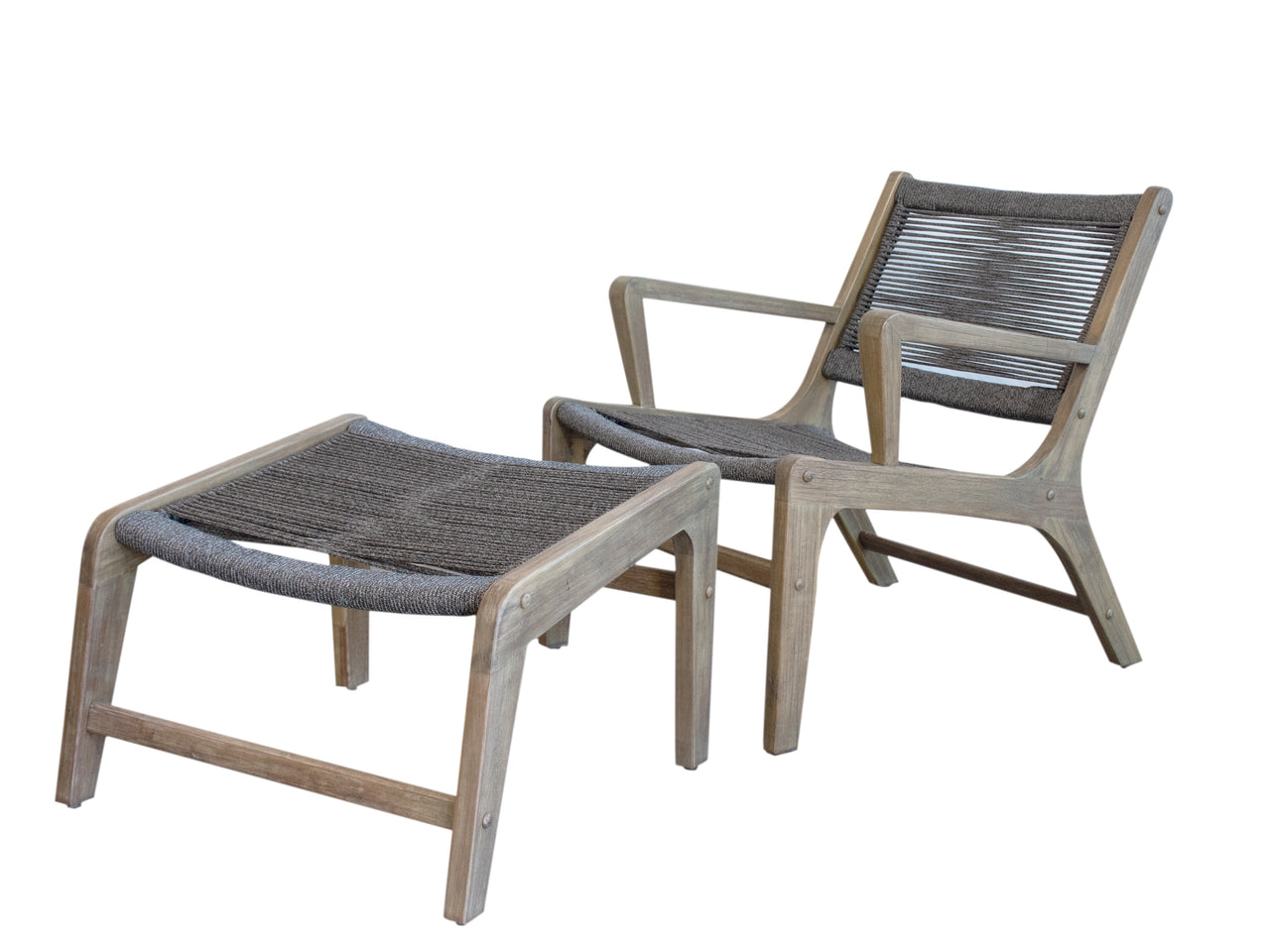 Oceans arm chair & stool