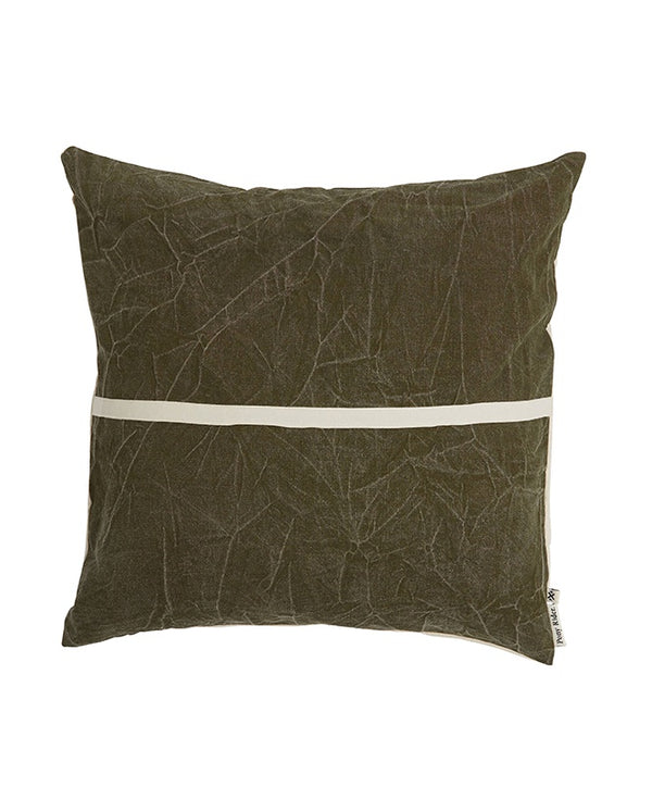 Wanderful Cushion Cover | Dark Shadow/Natural | 60*60