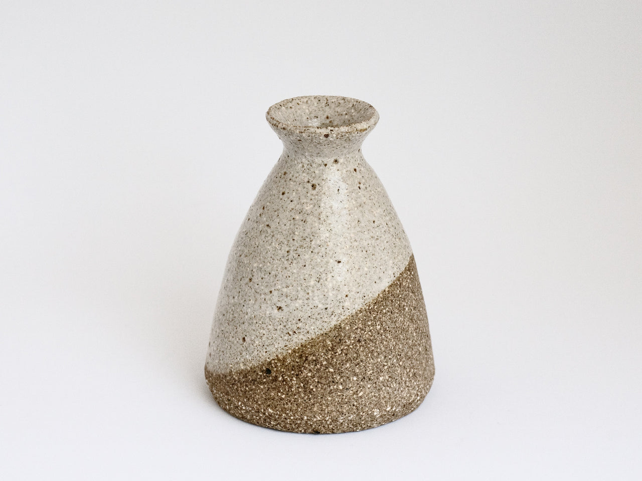 Two Tone Bottle Vase Sm
