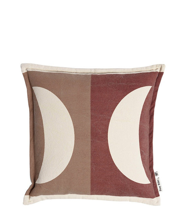 Moonrise Cushion Cover Plum Desert/Donkey 45x45