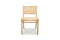 Bungalow rattan dining chair