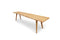 River edge teak bench