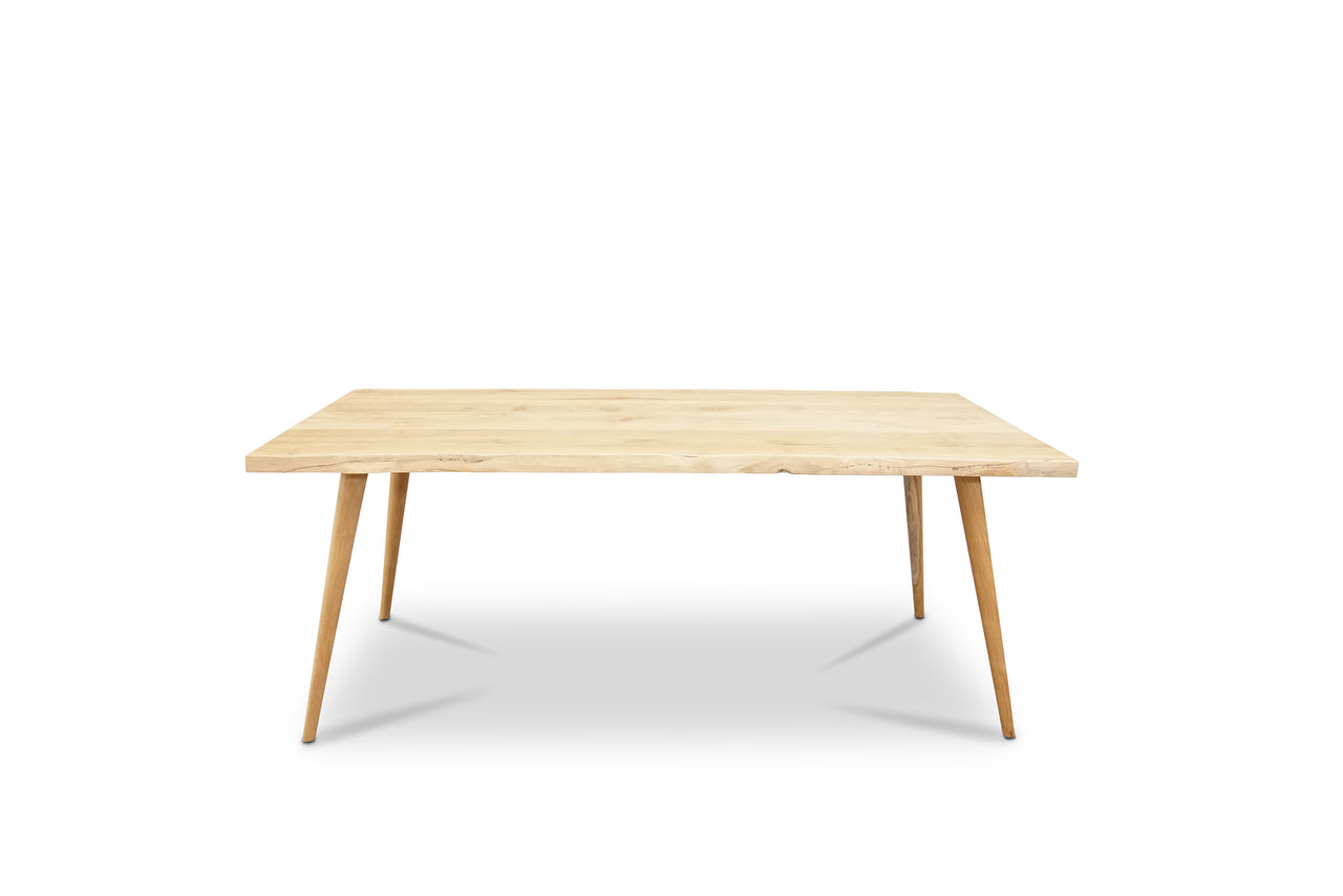 River edge dining table