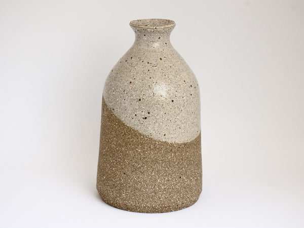 Two Tone Bottle Vase Lg