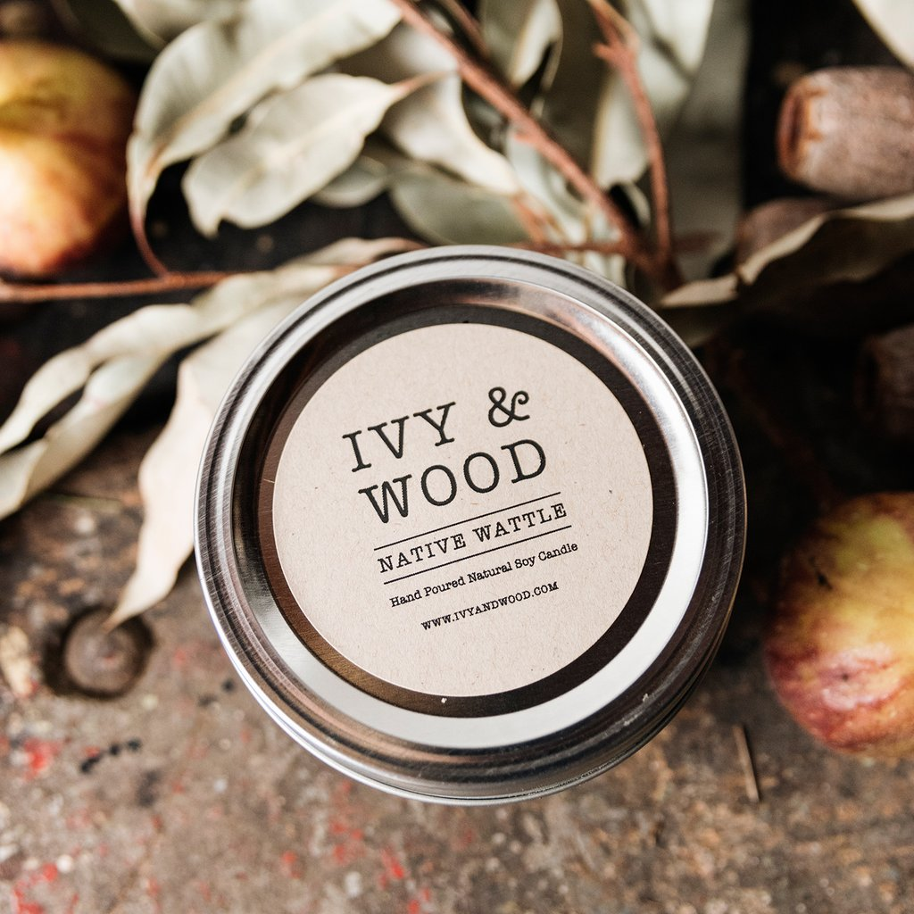 Ivy & Wood Australian Native Candles