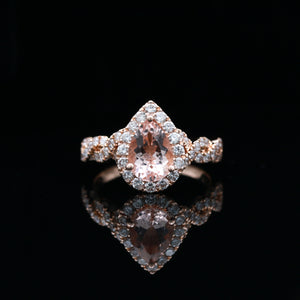 Neil Lane Morganite & Diamonds in Rose Gold - Sindur