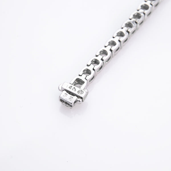 *SOLD* Six Carat Diamond Tennis Bracelet in White Gold - Sindur