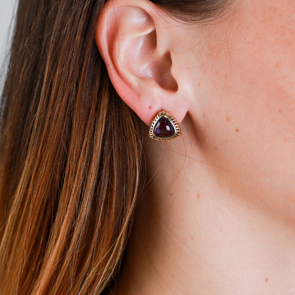 *SOLD* Amethyst in Sterling Silver Earrings