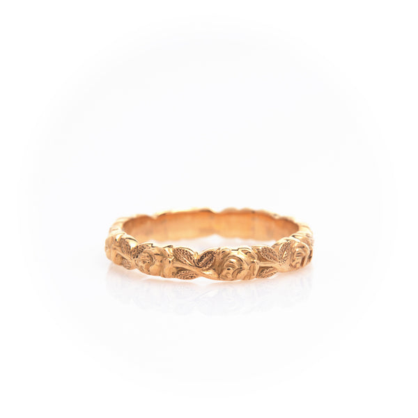 Jabel Yellow Gold Ring