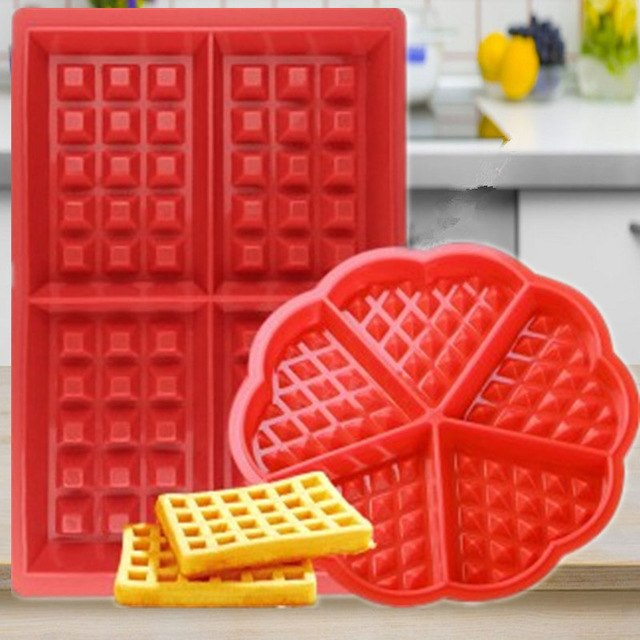 Silicone Waffle Makers for Mom, Dad and Kids
