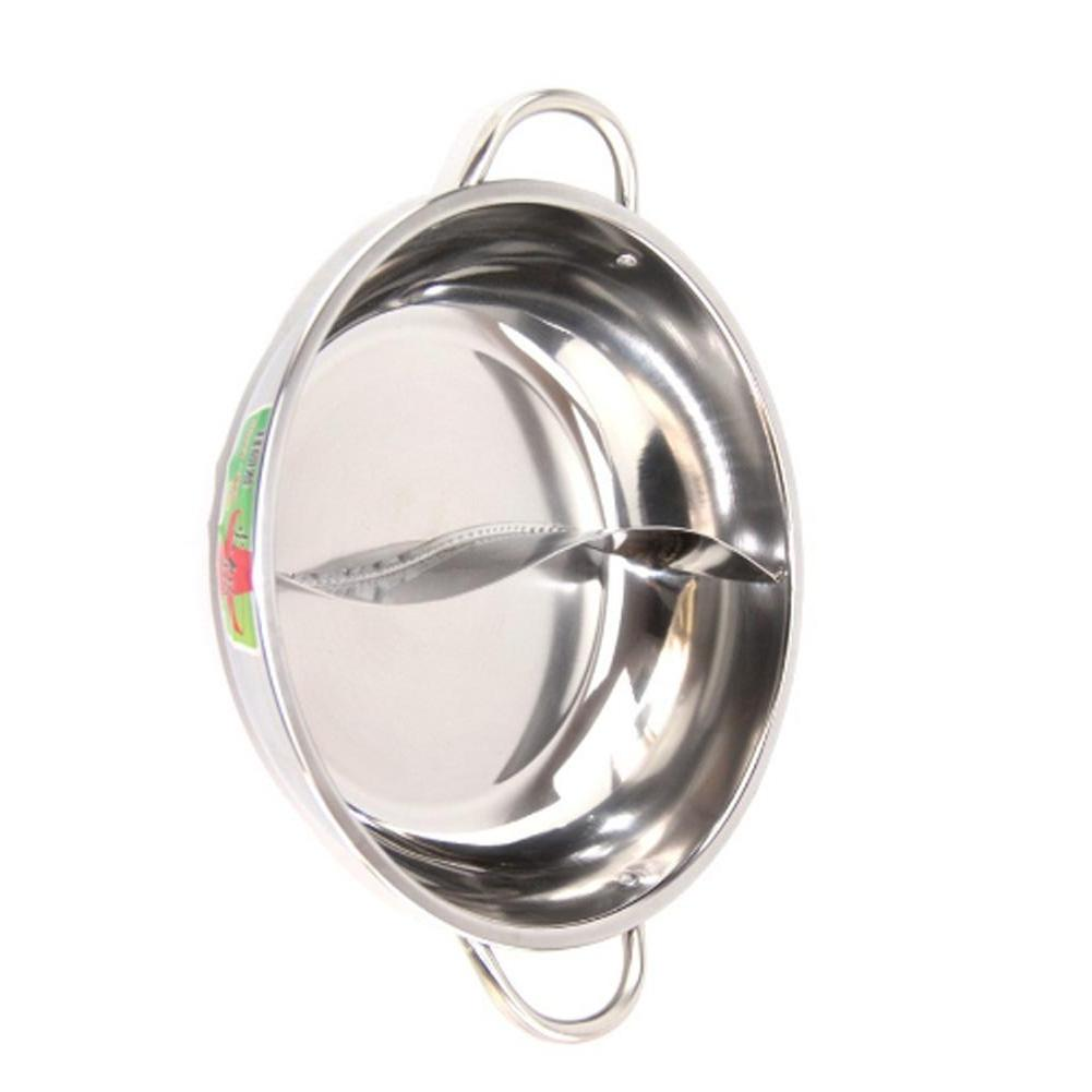 Divided Stainless Steel Hot Pot