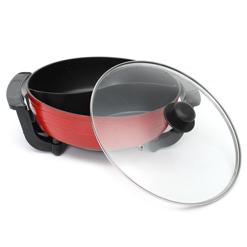 Dual Sided Electric Hot Pot
