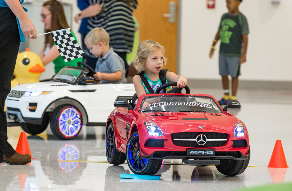 What makes Jr Motors ride-on cars safer than others? Five safety features you'll want to know about.