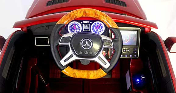 Candy Red Mercedes AMG