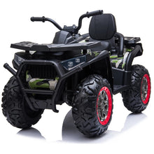 Load image into Gallery viewer, 12V Electric 4 Wheeler Quad for Kids with Parental Remote | Camouflage