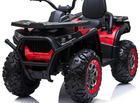 12V Electric 4 Wheeler Quad for Kids with Parental Remote | Red Spider