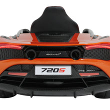 Load image into Gallery viewer, Orange | 12V Licensed Mclaren Kid Car with Touchscreen TV and Parental Remote