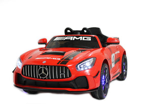 Licensed Mercedes GT AMG Special Edition Kids Car with TV and Parental Remote 12V | Red - Shop Remote control kids electric cars & motorcycles
