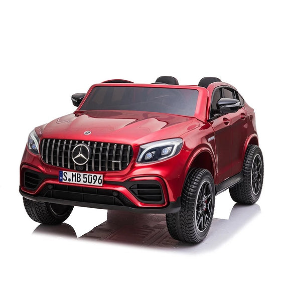 24V Licensed Mercedes GLC 63S 2-Seater with touchscreen tv and parental remote