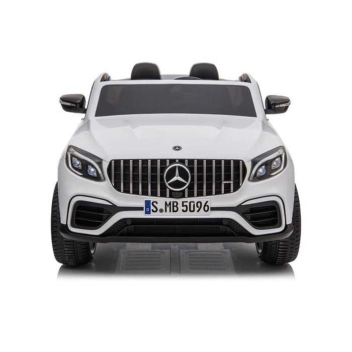 Load image into Gallery viewer, 24V Licensed Mercedes GLC 63S 2-Seater with touchscreen tv and parental remote