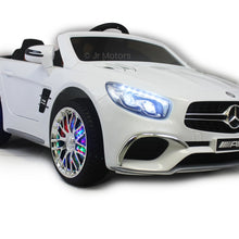 Load image into Gallery viewer, White | Licensed Mercedes AMG RC Ride on Cars With MP3 Player - Shop Remote control kids electric cars & motorcycles
