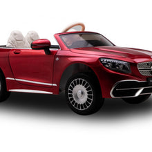 Load image into Gallery viewer, Licensed Mercedes Maybach Ride on Car with touch screen tv