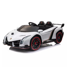 Load image into Gallery viewer, 2021 Licensed Lamborghini Veneno Exotic Kids Car with Bluetooth