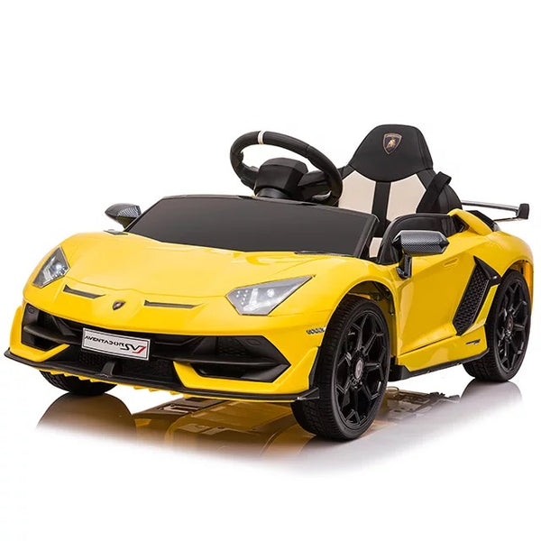 Lamborghini Aventador SVJ Kids Ride on Car with Parental Remote