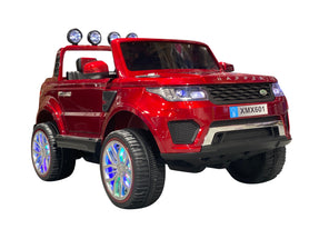 Red | 2020 Land Rover RC Electric Ride on Car with Touch Screen TV