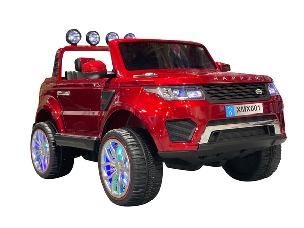 Red | 2020 Land Rover 4x4 RC Electric Ride on Car with Touchscreen TV