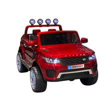 Load image into Gallery viewer, Red | 2020 Land Rover 4x4 RC Electric Ride on Car with Touchscreen TV