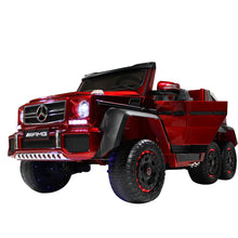 Load image into Gallery viewer, Candy Red | Mercedes Benz AMG G63 6x6 Truck (Fully Loaded)