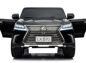 Licensed Lexus LX570 SUV with Toucschreen TV and Parental Remote | Black