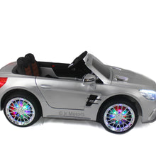 Load image into Gallery viewer, Silver | Licensed Mercedes AMG Ride on Car With Touchscreen TV