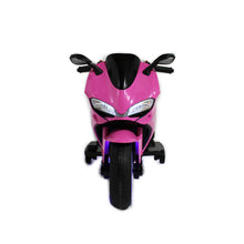 Load image into Gallery viewer, Pink | Elecric Ride on Motorcycle with LED Lights 12V - Shop Remote control kids electric cars & motorcycles