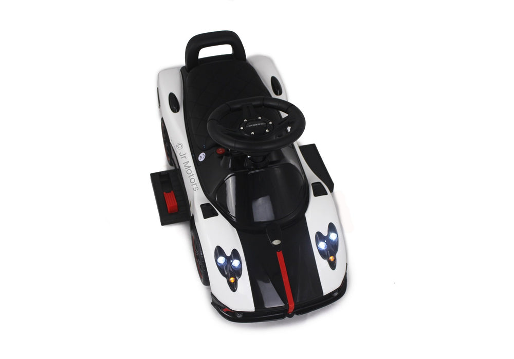 Load image into Gallery viewer, White | 3-in-1 Licensed Pagani Convertible Electric Push-Car - Shop Remote control kids electric cars & motorcycles