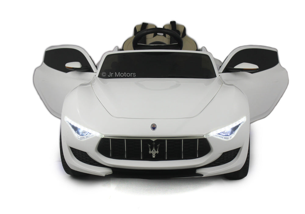 Load image into Gallery viewer, White | Licensed Maserati with MP3 Player RC Electric Ride on Car - Shop Remote control kids electric cars & motorcycles