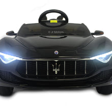 Load image into Gallery viewer, Black | Licensed Maserati with Touchscreen TV RC Electric Ride On Car - Shop Remote control kids electric cars & motorcycles