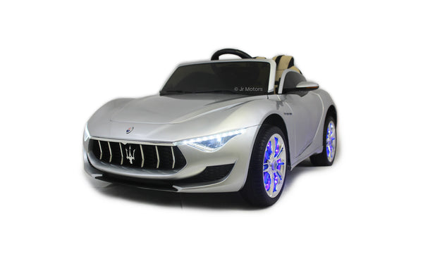 Silver | Licensed Maserati with Touchscreen TV RC Electric Ride On Car