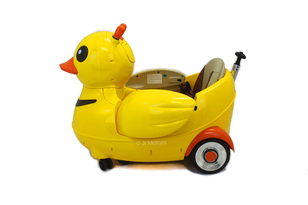4-in-1 Electric Ride on Duck