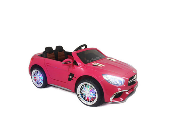 Pink | Licensed Mercedes AMG RC Ride on Car With Touchscreen TV