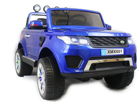 Blue | 2018 Land Rover RC Electric Ride on Car with touch screen TV - Shop Remote control kids electric cars & motorcycles