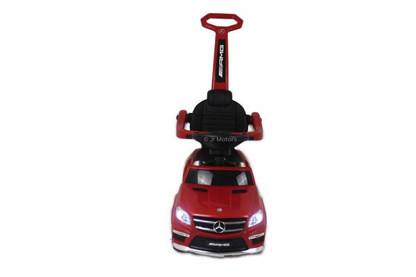 Red  Licensed Mercedes Benz Push Ride on Cars for Toddlers